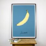 Blue Banana Giclee Print