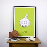 Green Garlic Giclee Print
