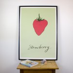 Green Strawberry Giclee Print